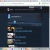 Продам аккаунт Steam с играми